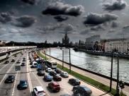 Metropolitan panorama - Moscow