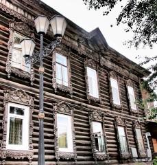 Wooden house - Tomsk