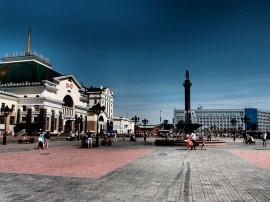 Train station - Krasnoyarsk