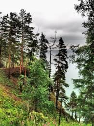 Baikal lake from the GBT trail