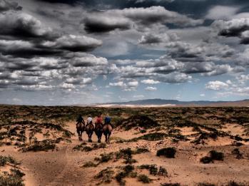 On the camel - Khongoryn Els