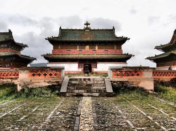 The main square - Erdene Zuu Khiid