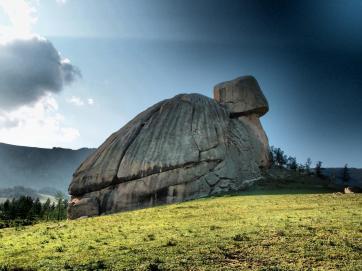 Turtle rock - Terelj National Park