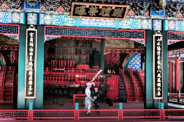 Fighting show at the Summer Palace - Beijing
