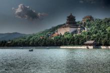 Yu Feng Pagoda at the Summer Palace - Beijing