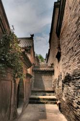 Along a chinese alley