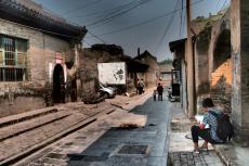 Street artists - Pingyao