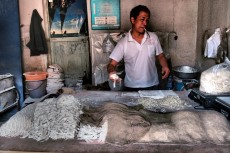 Making noodles - Pingyao