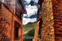 Walls - Ganden Monastery