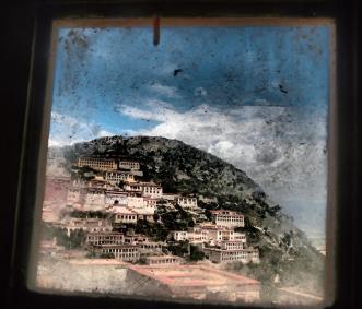 From a window - Ganden Monastery
