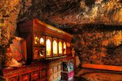 A cave temple - Drak Yerpa Monastery