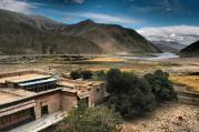 Panorama from Phuntsoling Monastery