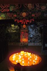 Disquieting chapel - Sakya Monastery