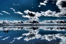 Clouds and waters