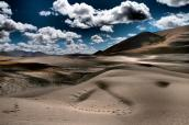 Sand dunes in the Himalayas