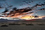 Last dawn in Tibet